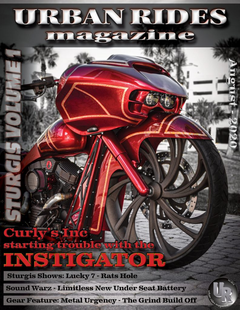 Urban Ride Magazine AUG 20 - SMT 3D V Arm Wheel