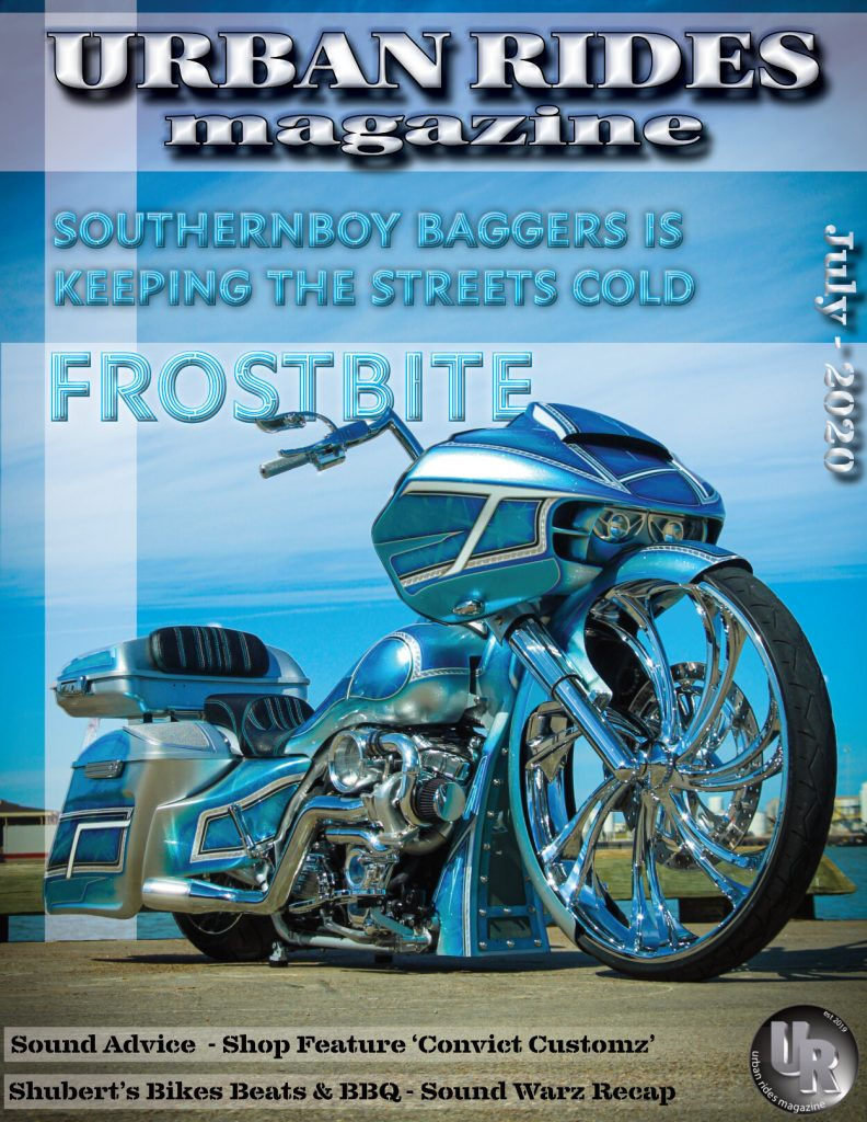 Urban Ride Magazine JULY 20 - SMT 3D V Arm Wheel