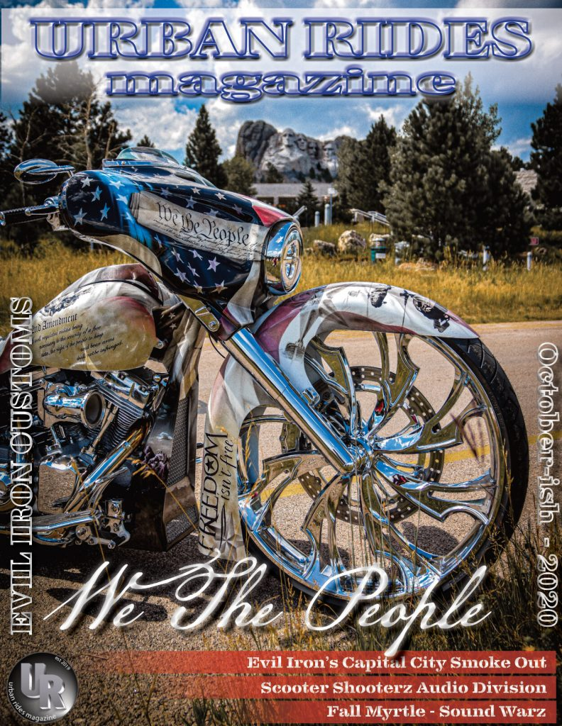 Urban Ride Magazine OCT 20 - SMT 3D Guinzu Wheel